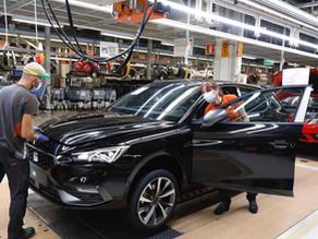 Las plantas españolas recuperan el ritmo al producir 211.000 vehículos en junio