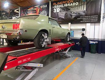 Mustang Taller Croix Pontevedra