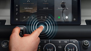 En Jaguar Land Rover trabajan para que no tengas que tocar la pantalla