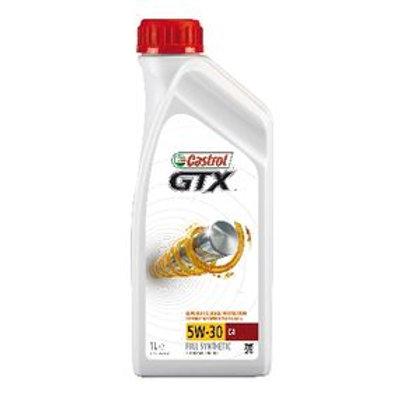 Castrol GTX, C4 Aceite de motor 5W-30, 1L, Aceite Sintetico