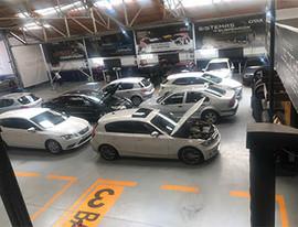 Taller Croix Pontevedra Área de trabajo