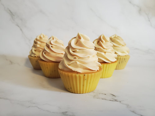 Savon Cupcake - Citron Pavot