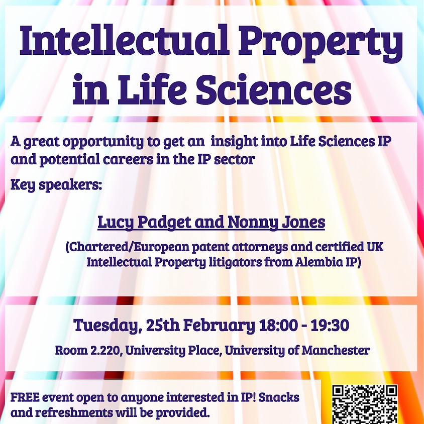 Intellectual Property in the Life Sciences