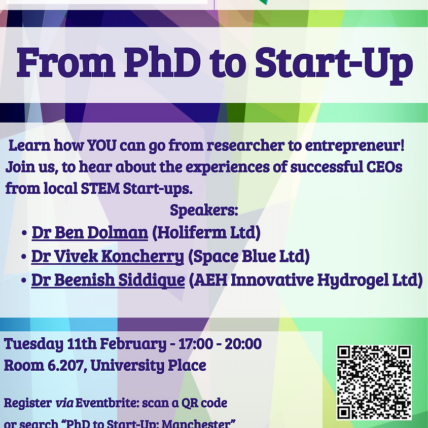 From PhD to Start-Up