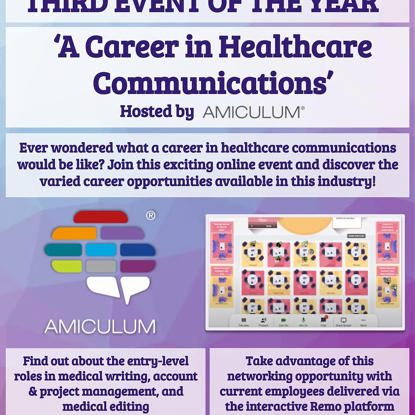 A career in healthcare communications by Amiculum