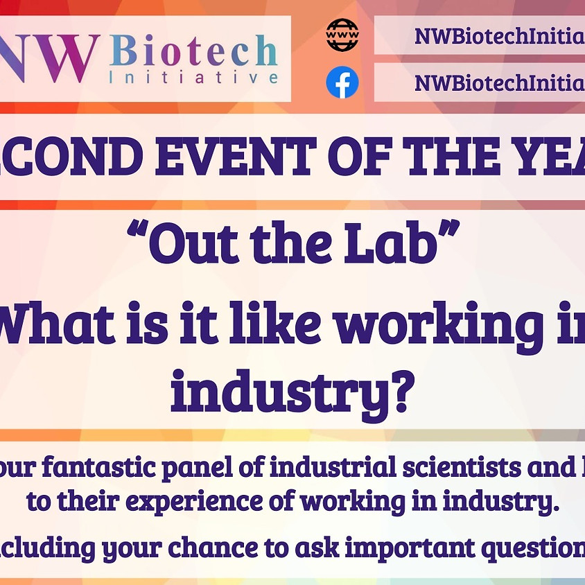 """""""Out of the Lab"""" - What is it like working in industry?"""