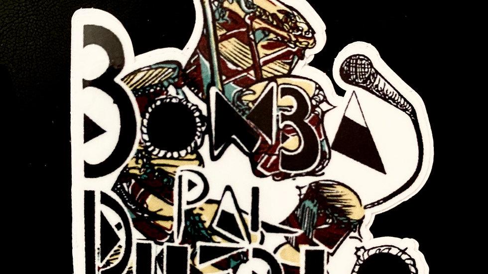 Bomba pa'l Pueblo Stickers
