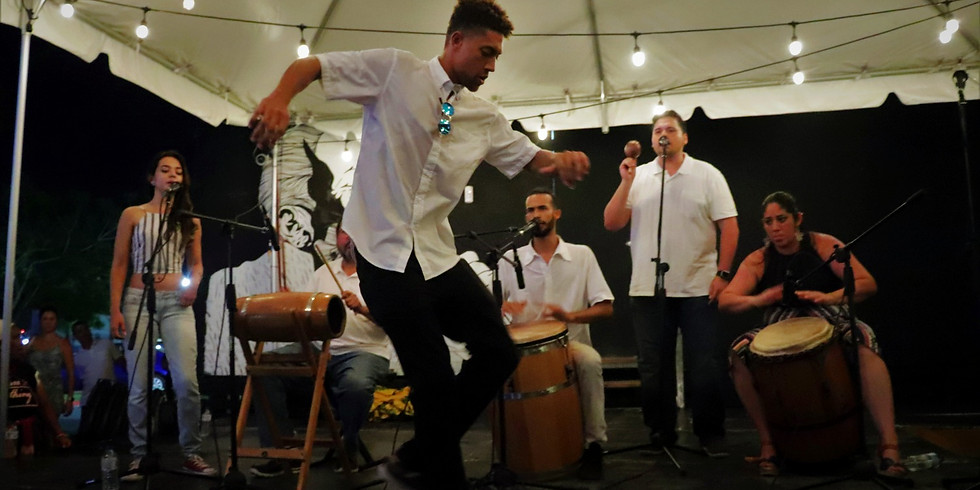 Bomba Pal Pueblo en el Día de la Música UPRRP