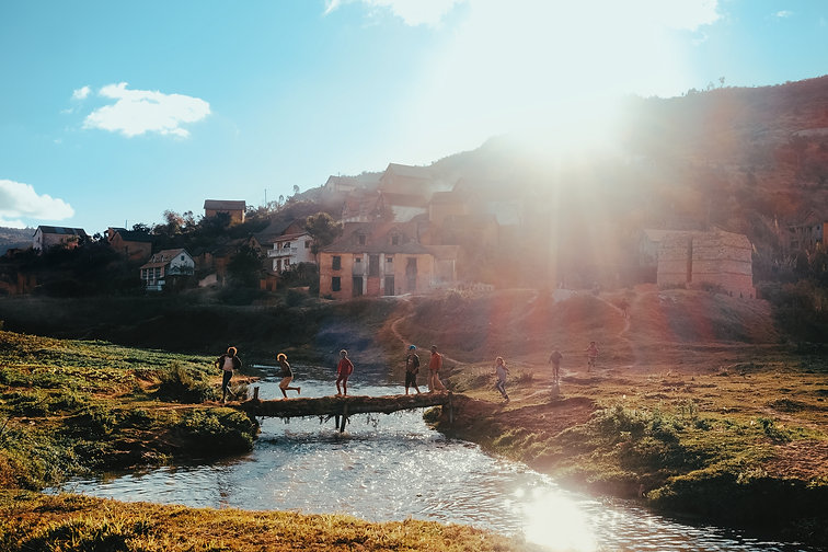 village à madagascar moringa