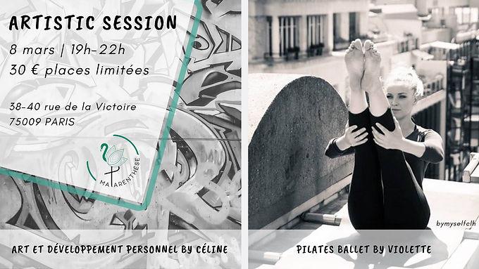 Artistic Session : art, pilates, poké bowl