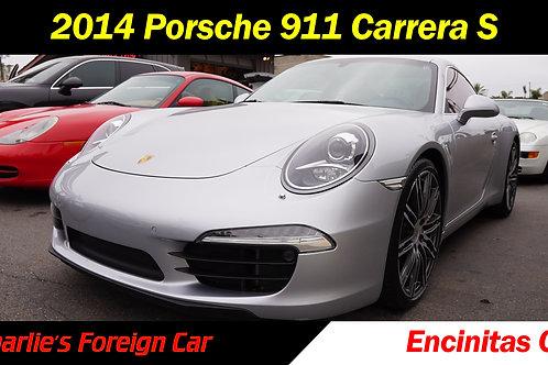 2014 Porsche Carrera s