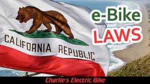 California State Electric Bike Laws