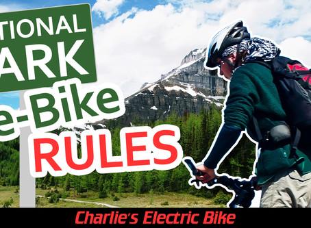 National Park e-Bike RULES