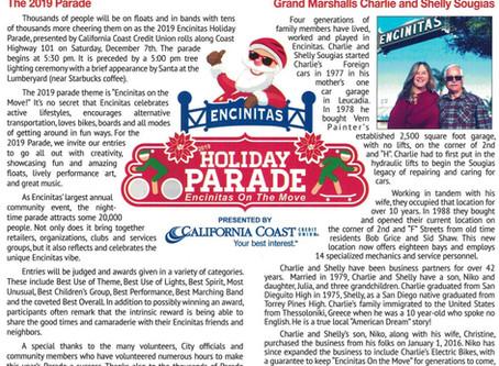 2019 Encinitas Holiday Parade!