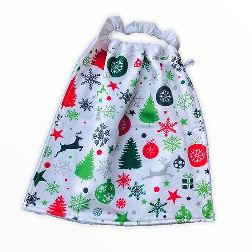 Bavoir élastique XL - Noël