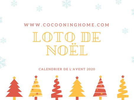 JOUR 11  - Mon loto de Noël - Calendrier de l'avent des activités.