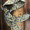 Thumbnail: Foulard motif Wax - multi usage