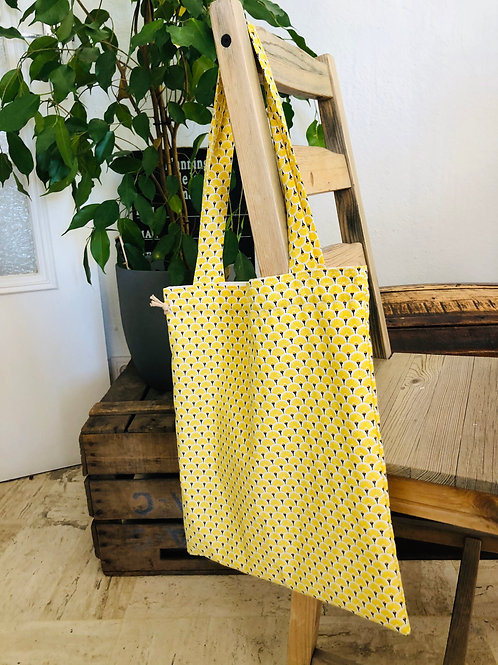 Tote Bag ou Sac à pain - Summer Yellow