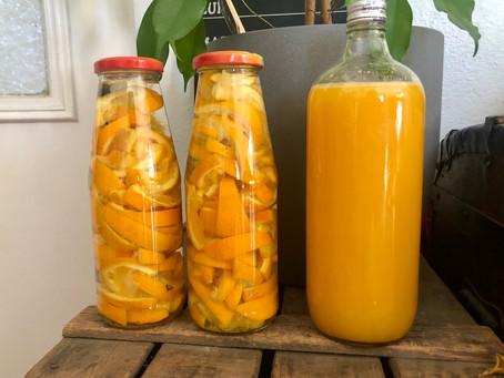 Ma vie en orange - astuce, DIY, recette.
