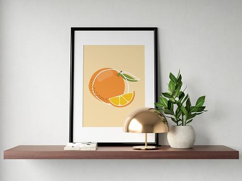 Orange - minimaliste