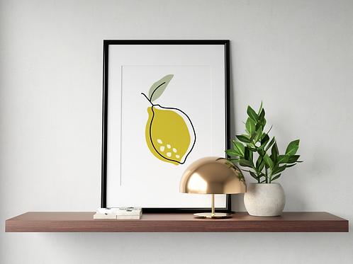 Citron - minimaliste