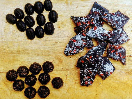 שוקולד ביתי מ3 רכיבים