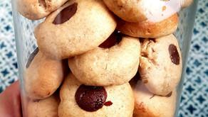 עוגיות טחינה- שקדים