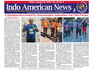 A Marathon Run Fueled by Determination, Adrenaline, but Little Practice