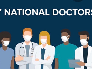 Happy National Doctors' Day