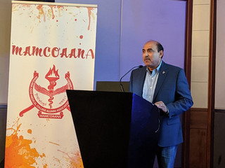 Dr Suneja Addresses MAMCOAANA Meeting in Chicago