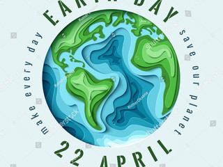 Earth Day : April 22