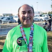 Dr. Suneja raises money for Katy ISD Education Foundation by running Houston Aramco Half Marathon