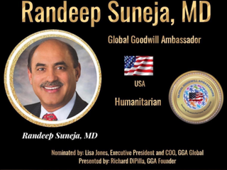 Suneja Nominated as Global Goodwill Ambassador on LinkedIn