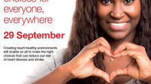 World Heart Day, September 29