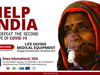 Help India To Defeat The Second Wave Of COVID-19
