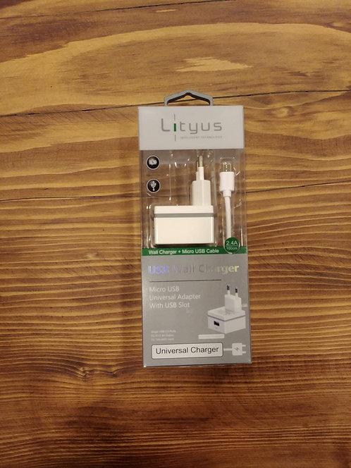 ŞARJ CİHAZI VE MİCRO USB KABLO