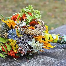 6 large bouquets