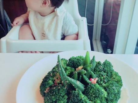 適合夏日的清涼沙拉&親子共食~
