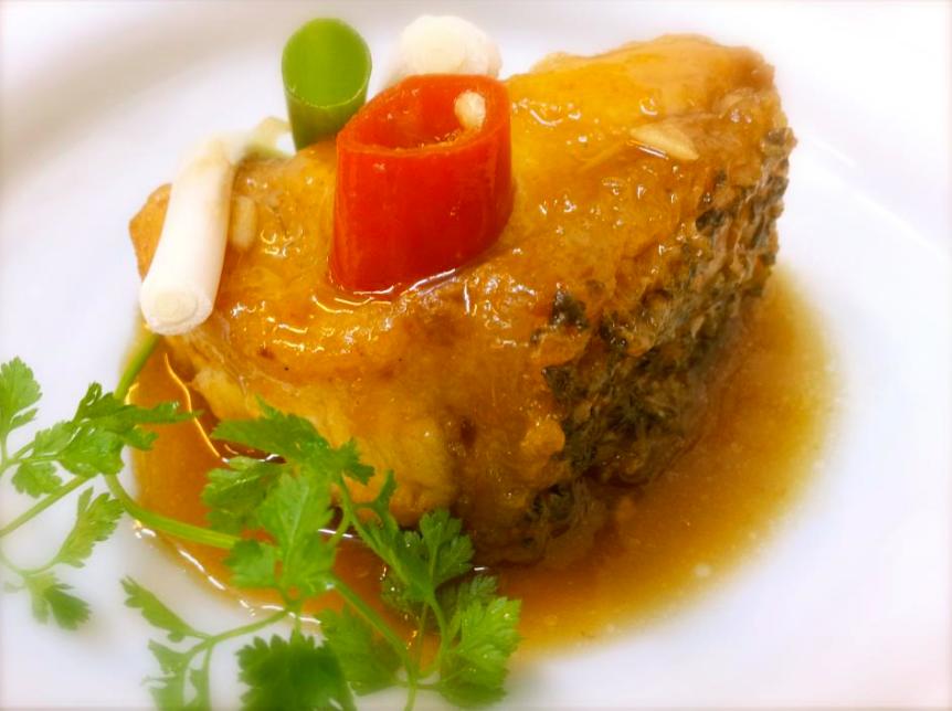 醬燒龍膽石斑魚