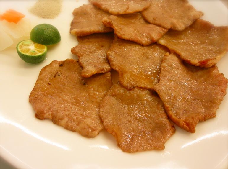 鹽烤台灣牛舌(台南。台北永林限定)