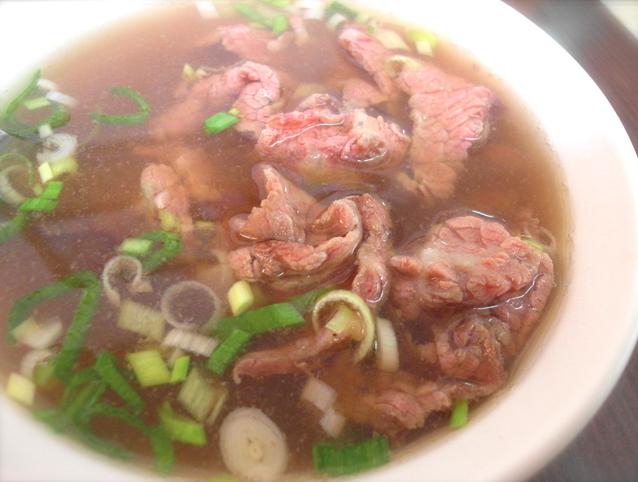 台灣手切牛肉湯