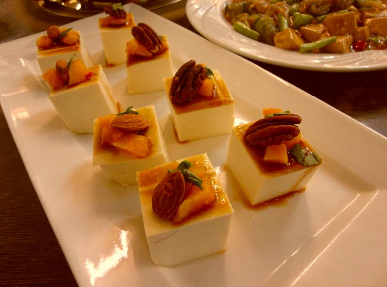 素食系列-堅果豆腐