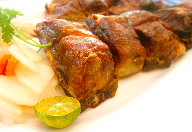 香烤台灣豬肋排(台南永林、巷道林限定)