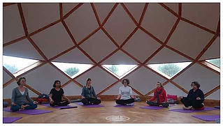 Zome séance de yoga