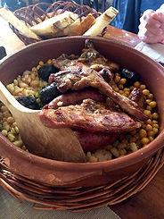 Comer en Collbató