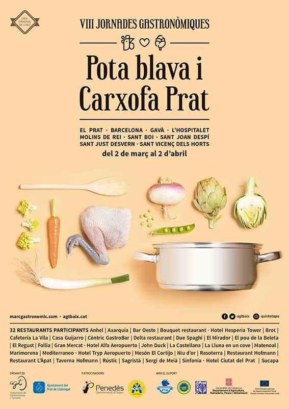 Jornades gastronòmiques Pota Blava Prat