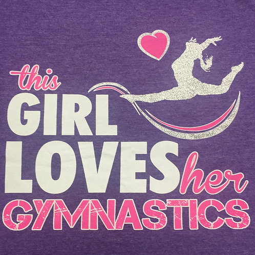 This Girl Loves Her Gymnastics