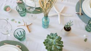 Prolonger l'été avec une table aux inspirations marines 🌊