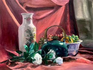 Still Life Study, Oil on Canvas, Painting I