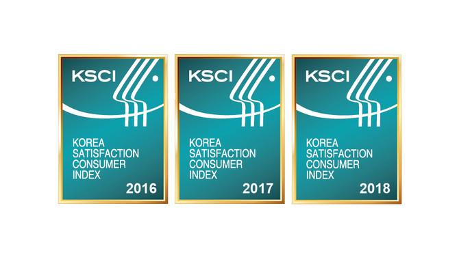 프랜차이즈 카페 부문 최초 3년 연속 1위 수상
